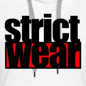 Strict alpha - Sweat-shirt à capuche Premium pour femmes