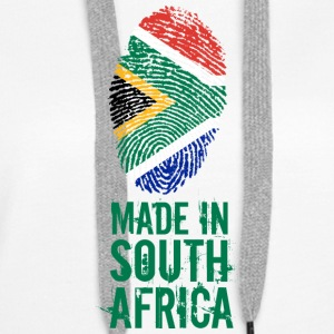 Made In South Africa / South Africa - Women's Premium Hoodie
