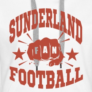 Sunderland Football Fan - Sweat-shirt à capuche Premium pour femmes