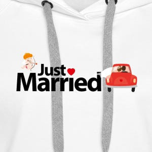 Just Married - Women's Premium Hoodie