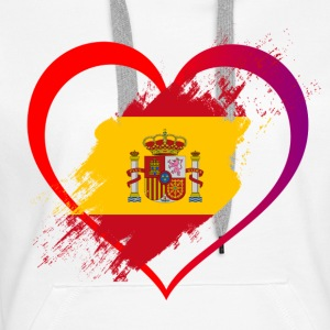 I LOVE SPAIN COLLECTION - Women's Premium Hoodie