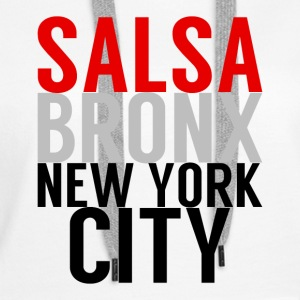 Salsa Bronx New York City - Frauen Premium Hoodie