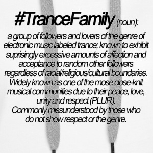 Definition of Trance Family - Women's Premium Hoodie