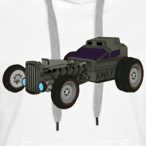 Hot Rod from the future v4 Kmlf style - Women's Premium Hoodie