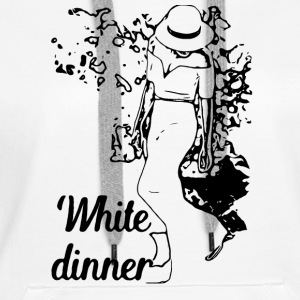 White Dinner Collection 1 - Women's Premium Hoodie