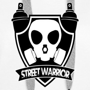 Street Warrior (Warrior of the street) - Women's Premium Hoodie