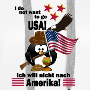 No-USA - Premium hettegenser for kvinner