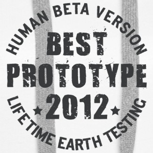 2012 - The birth year of legendary prototypes - Women's Premium Hoodie