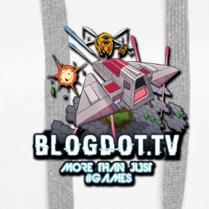 SpaceAvenger Blogdot.tv Fan Logo - Bluza damska Premium z kapturem