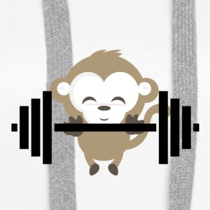 Fitness Monkey - Premium hettegenser for kvinner