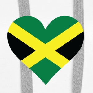 A Heart For Jamaica - Women's Premium Hoodie