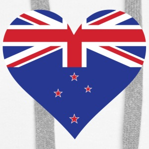 A Heart For New Zealand - Women's Premium Hoodie