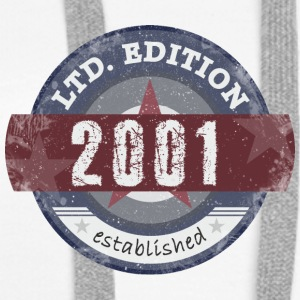LtdEdition 2001 - Premium hettegenser for kvinner