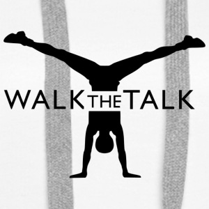 Walk the Talk Merchandise - Women's Premium Hoodie