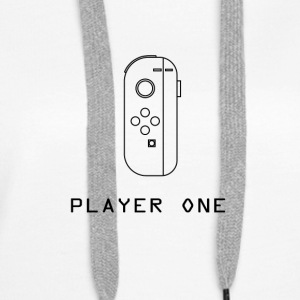 Player one Switch - Sudadera con capucha premium para mujer