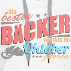 Baker's birthday October - Women's Premium Hoodie