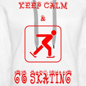 GO_SKATING - Premium hettegenser for kvinner