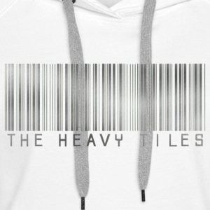 The Heavy Tiles Barcode collection - Women's Premium Hoodie