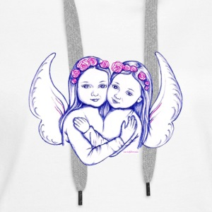 Wear your angel and follow the instructions! - Women's Premium Hoodie