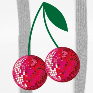 disco cherries - Women's Premium Hoodie
