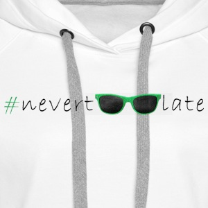 T-Shirt nevertoolate SunGlasses Frau - Frauen Premium Hoodie