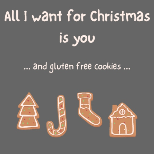 All I want for Christmas - Gluten free - Frauen Premium Hoodie