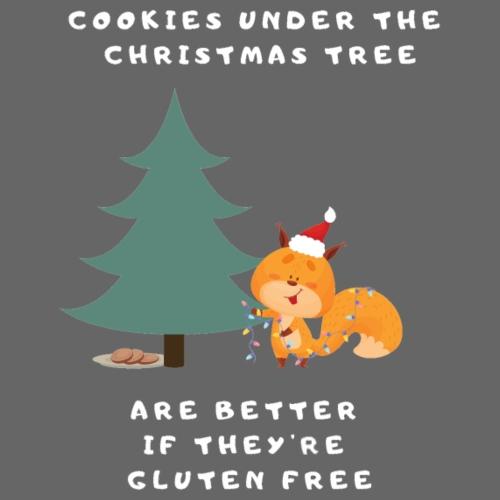 Cookies under the Christmas Tree - Frauen Premium Hoodie