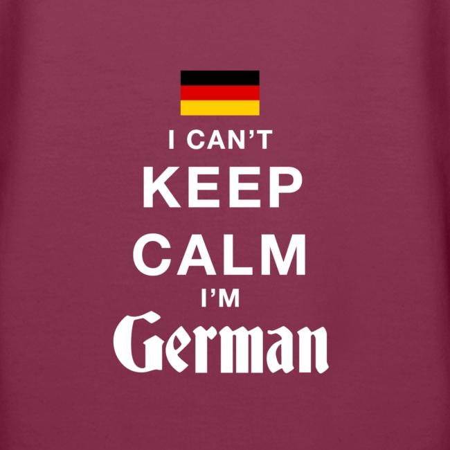 I CAN T KEEP CALM german
