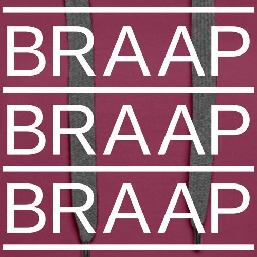 braap braap braap 0BR02 W - Women's Premium Hoodie