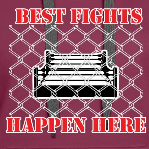 Best Fights - Boxing - Women's Premium Hoodie