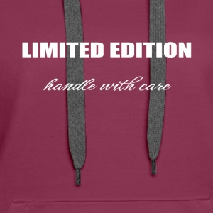 Limited edition - handle with care - Women's Premium Hoodie