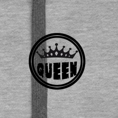 Queen Brustlogo - Frauen Premium Hoodie