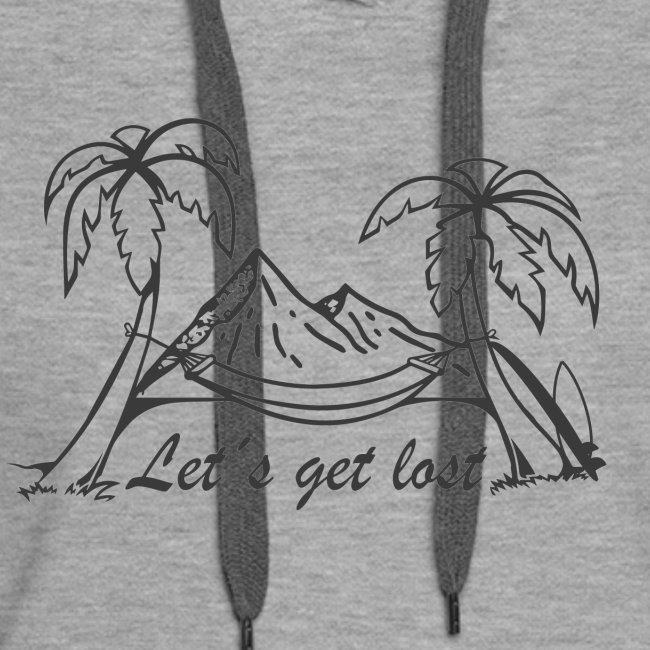 Weltreise T´Shirt - Let´s get lost