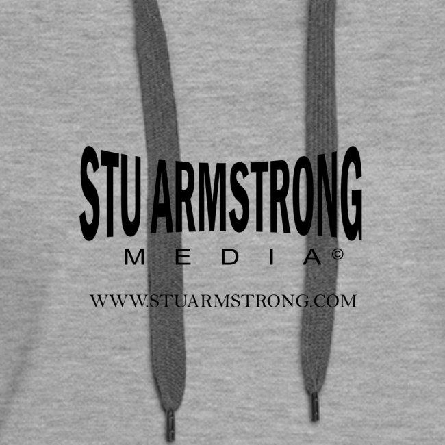 Stu Armstrong Media Black Logo