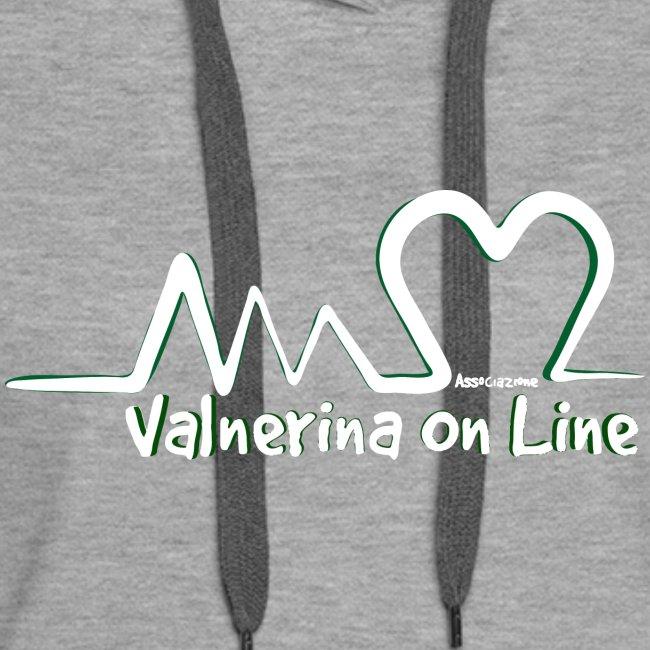 Valnerina On line APS logo bianco con ombra