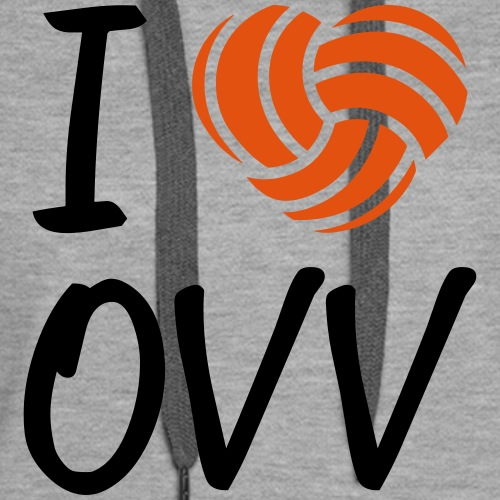 I love OVV - Frauen Premium Hoodie