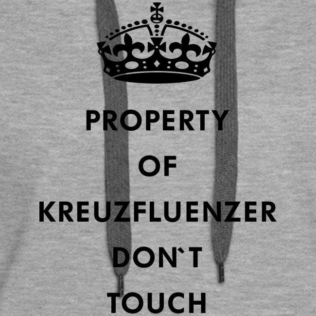 Kreuzfluenzer Don´t Touch Black