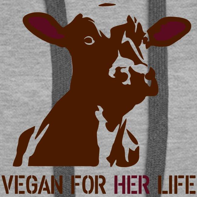 vegan for her life