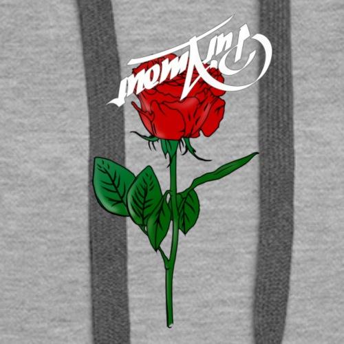 pur amour rose - Frauen Premium Hoodie