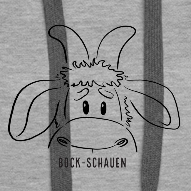 Schafbock: Bock schauen - schwarz