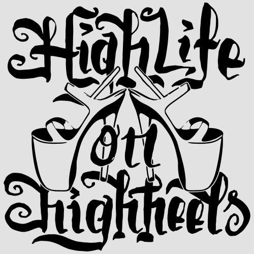 High Life On HighHeels - Frauen Premium Hoodie