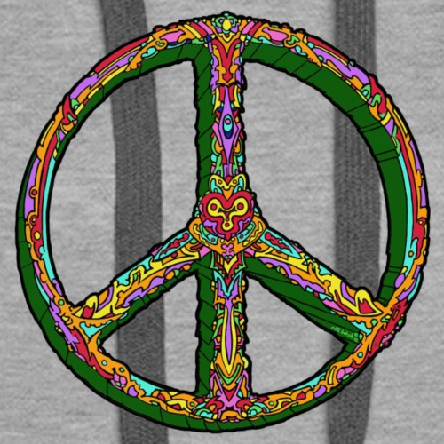 Peace for all the people - Frauen Premium Hoodie