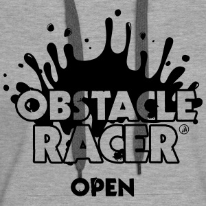 Obstacle Racer Open - Sweat-shirt à capuche Premium pour femmes