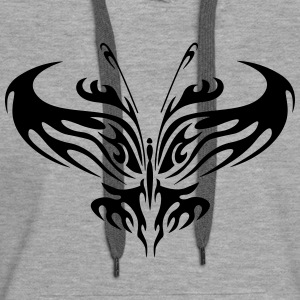 Butterfly - Abstract 2 - Women's Premium Hoodie