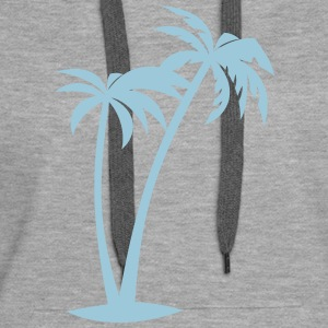 Palm Trees AllroundDesigns - Women's Premium Hoodie