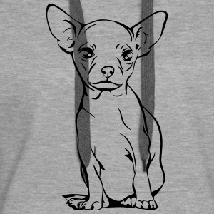 CHIHUAHUA PORTRAIT full body - Women's Premium Hoodie
