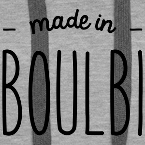 Made in Boulbi - Sweat-shirt à capuche Premium pour femmes