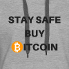 stay safe buy bitcoin - Frauen Premium Hoodie