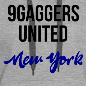 9gagger New York - Sweat-shirt à capuche Premium pour femmes