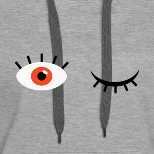 Eye see you - Women's Premium Hoodie